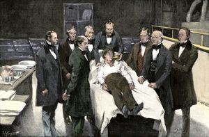 First use of anesthesia in surgery, 1846