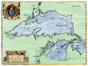 French settlement of the Great Lakes, 1600s