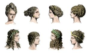 Hair styles of the ancient Greeks