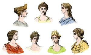Hair styles of Roman ladies