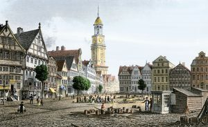 Hamburg, Germany, early 1800s