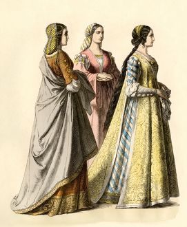 Ladies in Florence during the Renaissance