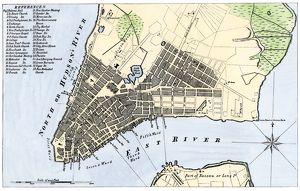 Manhattan map, 1789