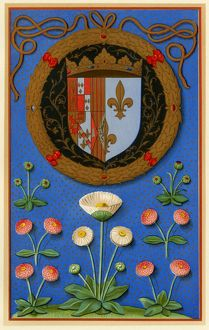 Marguerite de Navarre's coat of arms