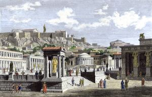 Marketplace of ancient Athens