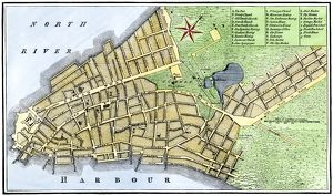 New York City map, 1767