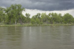 North Platte River in Nebraska