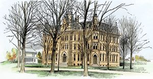 Oberlin College in the 1890s