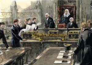 Opening of Parliament, 1886