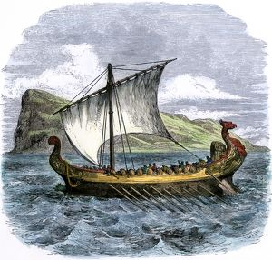 Phoenician ship in the Mediterranean