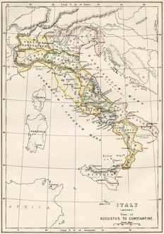 Regions of Italy in the Roman Empire