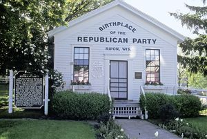Republican Party birthplace, Ripon, Wisconsin