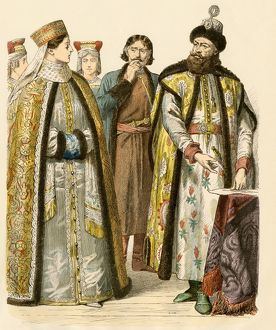 Russian boyars, 17th century
