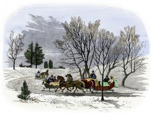 Sleighs in the 19th century
