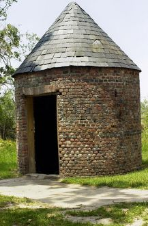 Smokehouse on a plantation in South Carolina