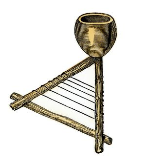 West African musical instrument