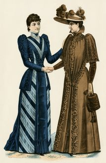 Women's dress styles, 1890s