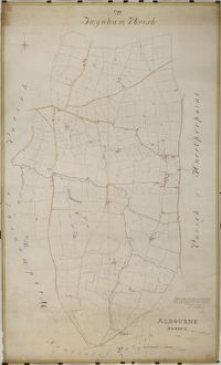 Albourne Tithe Map, 1838