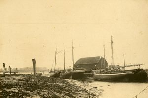 Bosham: 'Boats and Shore', 6 June 1892