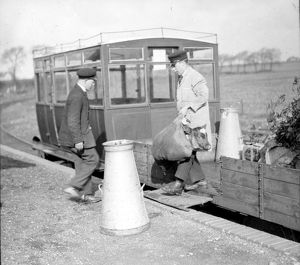 Delivery at Selsey c. 1933