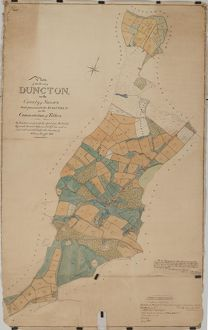 Duncton tithe map, 1837
