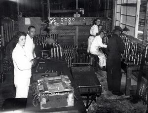 Harwoods Factory, Pulborough, July 1942