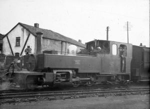 Loco 'Exe' on the Lynton & Barnstable Railway c. 1933