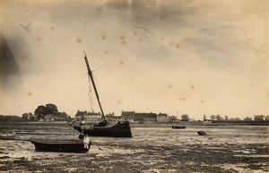 Low tide at Bosham Harbour, 18 May 1891