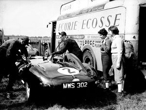 Motor racing at Goodwood, 7 September 1956