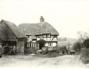 Old Cottage at Houghton, 1932