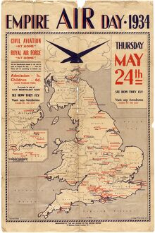 Poster for Empire Air Day, 1934