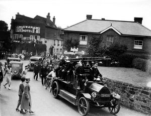 Pulborough Hospital Parade, 13 August 1933