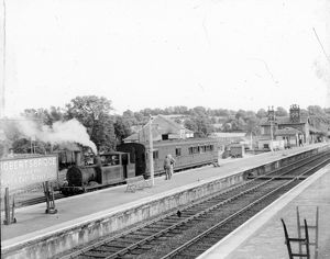 Robertsbridge Station c. 1952