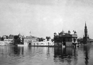 RSR 2/6th Battalion, The Golden Temple, Amritsar