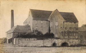 The mill at Sidlesham, 1900