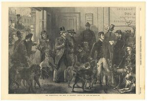 International Dog Show at Islington 1865