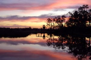 Bayou Sunset, Ocean Springs, Mississippi