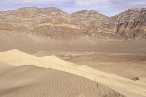 Death Valley N.M., CA: Last Chance Mts., from Eureka Dunes