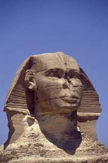The Great Sphinx at Giza Pyramids, Cairo, Egypt