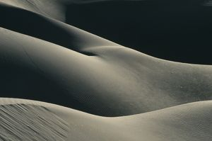 Sand Dunes, female form, 'Lady in the Dunes', Baja Calfornia, Mexico