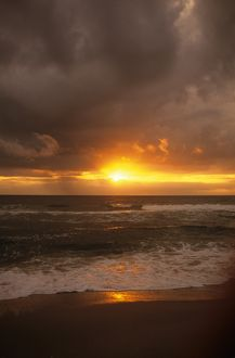 Sunrise over Atlantic Ocean, Rodanthe, North Carolina