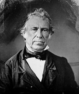 12th President of the United States. Daguerreotype, c1850.