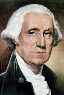 (1732-1799). 1st President of the United States.