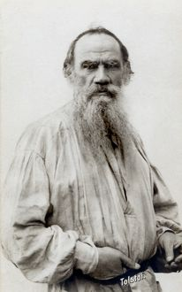 (1838-1910). Russian writer and philosopher.