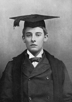 (1870-1945). English writer. Photographed at Oxford, age 21.