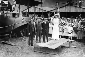 (1878-1930). American inventor and aviator. With John Cyril Porte, George E.A. Hallett