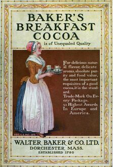 vintage ads/ad bakers breakfast cocoa c1900