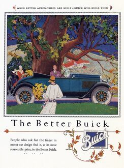 AD: BUICK, 1926. American advertisement for Buick automobiles, 1926
