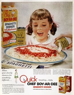 vintage ads/ad chef boy ar dees quick tempting tasty