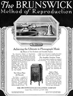AD: THE ULTONA, 1919. American advertisement for THe Ultona, a product of The